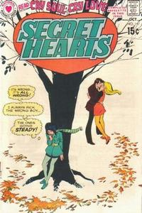 Cover Thumbnail for Secret Hearts (DC, 1949 series) #147