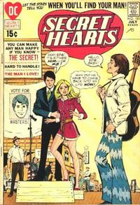 Cover Thumbnail for Secret Hearts (DC, 1949 series) #153