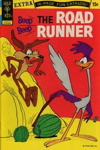 Cover Thumbnail for Beep Beep the Road Runner (Western, 1966 series) #33 [Gold Key]