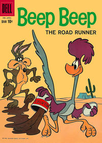 Cover Thumbnail for Beep Beep (Dell, 1960 series) #4