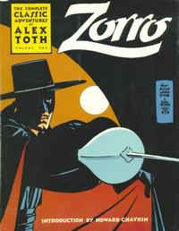 Cover Thumbnail for The Classic Alex Toth Zorro (Image, 1998 series) #1
