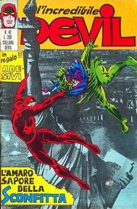 Cover Thumbnail for L'Incredibile Devil (Editoriale Corno, 1970 series) #42