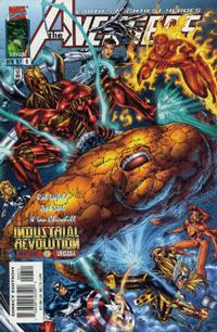 Cover Thumbnail for Avengers (Marvel, 1996 series) #6 [Direct Edition]