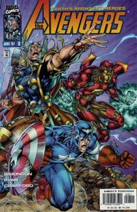 Cover Thumbnail for Avengers (Marvel, 1996 series) #8 [Direct Edition]
