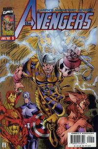 Cover for Avengers (Marvel, 1996 series) #9 [Newsstand]