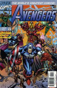 Cover Thumbnail for Avengers (Marvel, 1996 series) #11 [Direct Edition]