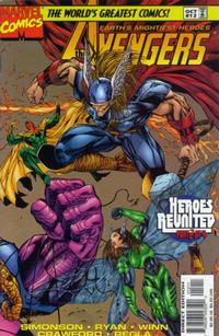 Cover Thumbnail for Avengers (Marvel, 1996 series) #12 [Direct Edition]