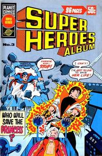 Cover Thumbnail for Super Heroes Album (K. G. Murray, 1976 series) #3