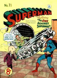 Cover Thumbnail for Superman (K. G. Murray, 1947 series) #71