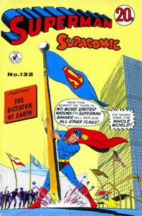 Cover Thumbnail for Superman Supacomic (K. G. Murray, 1959 series) #132
