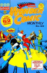 Cover Thumbnail for Superman Presents Wonder Comic Monthly (K. G. Murray, 1965 ? series) #125