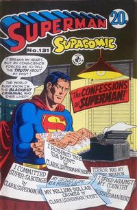 Cover Thumbnail for Superman Supacomic (K. G. Murray, 1959 series) #131