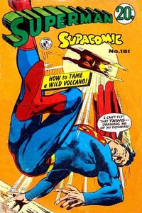 Cover Thumbnail for Superman Supacomic (K. G. Murray, 1959 series) #151