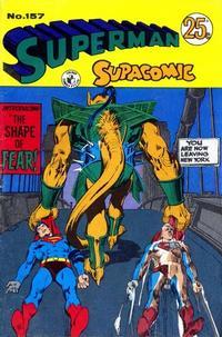 Cover Thumbnail for Superman Supacomic (K. G. Murray, 1959 series) #157
