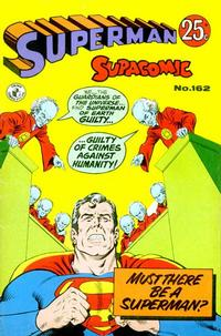 Cover for Superman Supacomic (K. G. Murray, 1959 series) #162