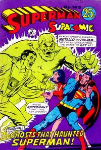 Cover Thumbnail for Superman Supacomic (K. G. Murray, 1959 series) #163