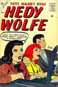 Cover Thumbnail for Hedy Wolfe (Marvel, 1957 series) #1