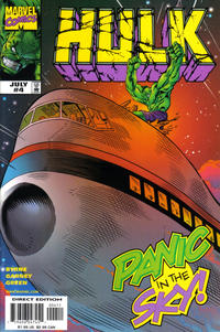 Cover Thumbnail for Hulk (Marvel, 1999 series) #4 [Direct Edition]