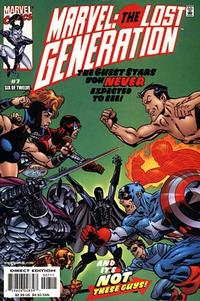 Cover Thumbnail for Marvel: The Lost Generation (Marvel, 2000 series) #7