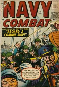Cover Thumbnail for Navy Combat (Marvel, 1955 series) #18
