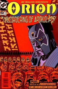 Cover Thumbnail for Orion (DC, 2000 series) #12