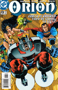 Cover Thumbnail for Orion (DC, 2000 series) #13