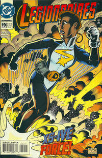 Cover for Legionnaires (DC, 1993 series) #19