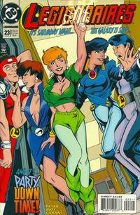 Cover Thumbnail for Legionnaires (DC, 1993 series) #23