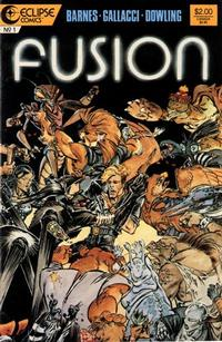 Cover Thumbnail for Fusion (Eclipse, 1987 series) #1