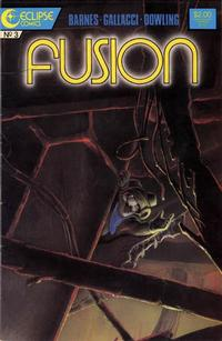 Cover for Fusion (Eclipse, 1987 series) #3
