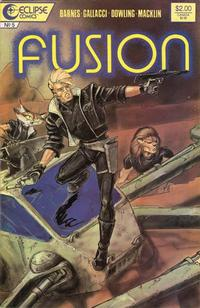 Cover Thumbnail for Fusion (Eclipse, 1987 series) #5