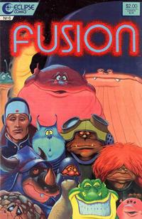 Cover Thumbnail for Fusion (Eclipse, 1987 series) #6