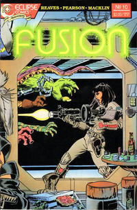 Cover for Fusion (Eclipse, 1987 series) #10