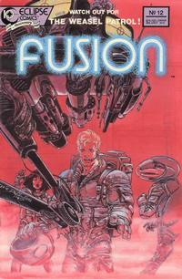 Cover Thumbnail for Fusion (Eclipse, 1987 series) #12