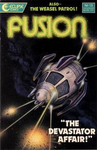 Cover Thumbnail for Fusion (Eclipse, 1987 series) #13