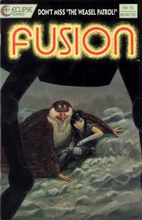 Cover Thumbnail for Fusion (Eclipse, 1987 series) #15