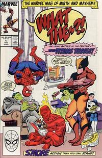 Cover Thumbnail for What The--?! (Marvel, 1988 series) #1 [Direct]