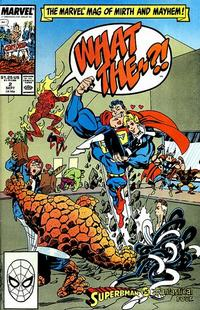 Cover Thumbnail for What The--?! (Marvel, 1988 series) #2 [Direct Edition]