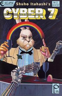 Cover Thumbnail for Cyber 7 (Eclipse, 1989 series) #2
