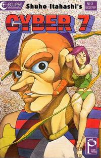 Cover Thumbnail for Cyber 7 (Eclipse, 1989 series) #3