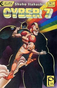 Cover Thumbnail for Cyber 7 (Eclipse, 1989 series) #7
