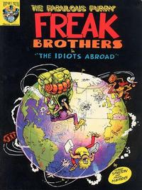 Cover Thumbnail for The Fabulous Furry Freak Brothers in The Idiots Abroad (Rip Off Press, 1987 series) #[nn]