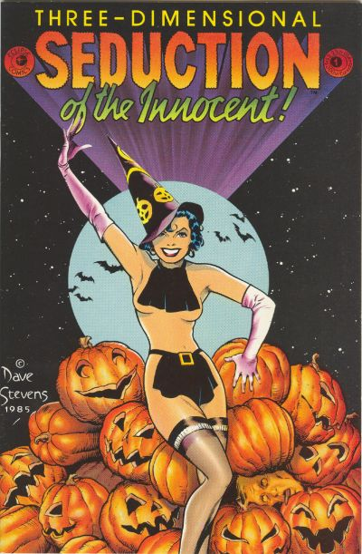 Cover for Seduction of the Innocent 3-D (Eclipse, 1985 series) #1