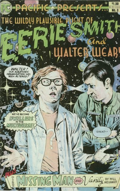 Cover for Pacific Presents (Pacific Comics, 1982 series) #3