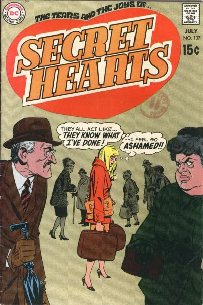 Cover for Secret Hearts (DC, 1949 series) #137