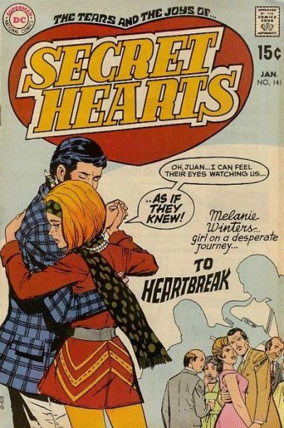 Cover for Secret Hearts (DC, 1949 series) #141