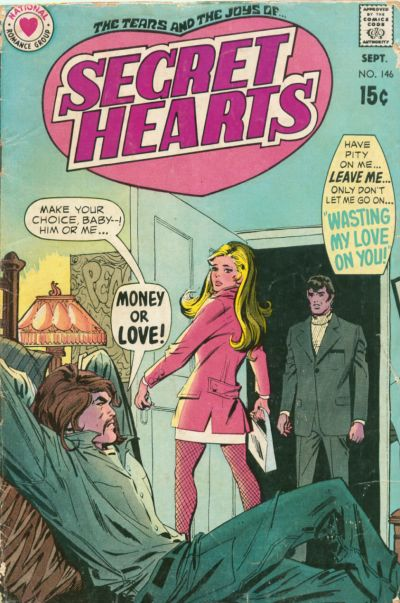 Cover for Secret Hearts (DC, 1949 series) #146
