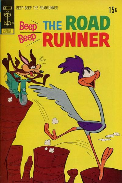 Cover for Beep Beep the Road Runner (Western, 1966 series) #32 [Gold Key]