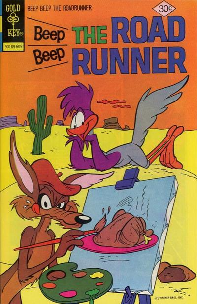 Cover for Beep Beep the Road Runner (Western, 1966 series) #59