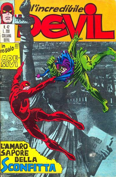 Cover for L'Incredibile Devil (Editoriale Corno, 1970 series) #42